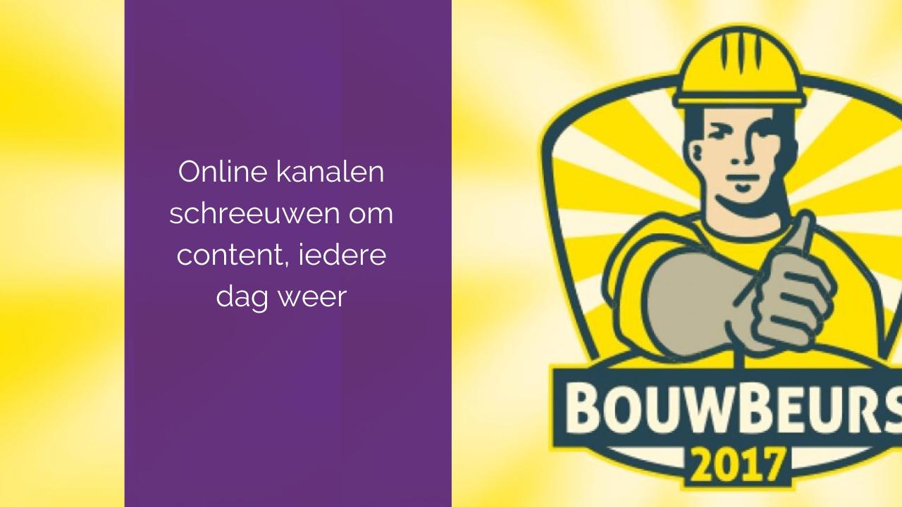 3 mediatips voor je deelname aan de Bouwbeurs 2017