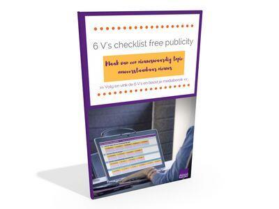 6 V's checklist free publicity