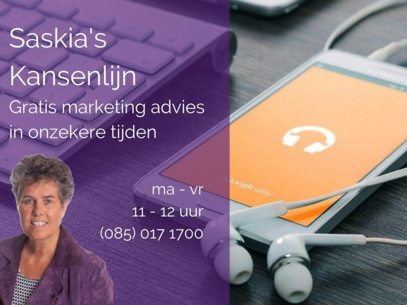 Gratis marketingadvies in onzekere tijden