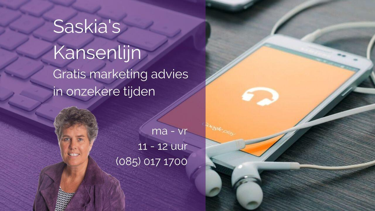 Gratis marketingadvies in onzekere tijden
